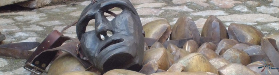 Maschera e campanacci mamuthone